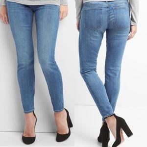 Gap maternity always skinny jeans w/ demi band